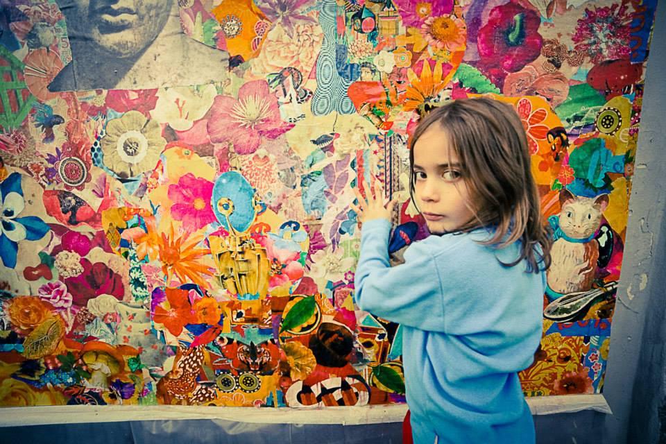Felipe and street art