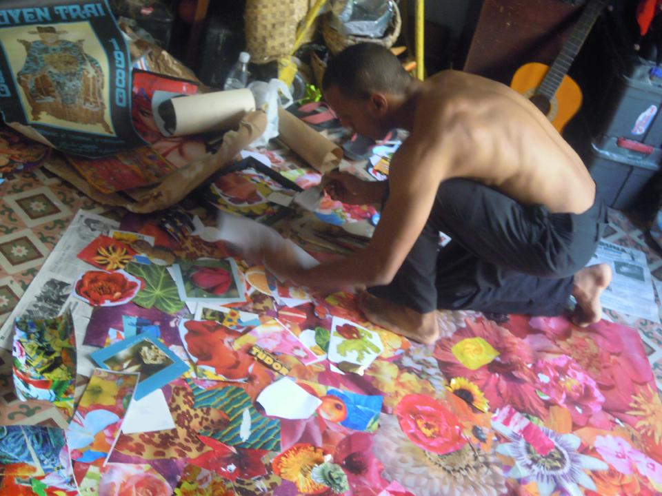 Felipe Cardeña working